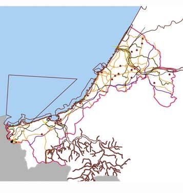 Nouvelle Aquitaine : TRI Cotier Basque - Aléas submersion marine - Cartographie